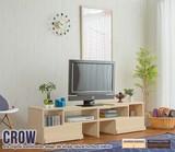 【直送可】Crow TV board 伸縮型ローボード【テレビ台】【送料無料】