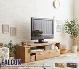 【直送可】Falcon TV board 伸縮型ローボード【テレビ台】【送料無料】