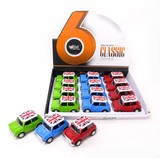 Model Car Bag Die-Cast Tissue 3 Colors Assort