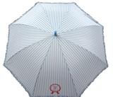 ◆新作◆ 【リールリール・ガールズ】子供用雨傘 ガーリーストライプフリル