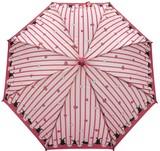◆新作◆ 【モフモフ】子供用雨傘 うさぎストライプハート