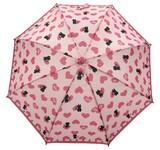 ◆新作◆ 【モフモフ】子供用雨傘 ハートねこ