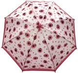 ◆新作◆ 【モフモフ】子供用雨傘 ねこリボンドット