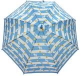 ◆新作◆ 【モフモフ】子供用雨傘  フラワーねこボーダー