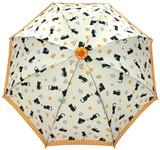 ◆新作◆ 【モフモフ】子供用雨傘  ねこクローバー