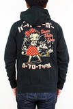 Tea Collaboration Embroidery Hoody