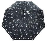 ◆新作◆ 【エルソポ】婦人用雨傘  ねこミュージック