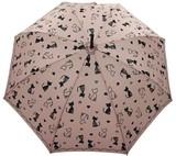 ◆新作◆ 【エルソポ】婦人用雨傘  ねこハート
