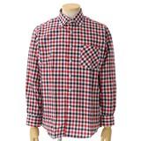 【決算特別SALE】きれいな仕上がり、ボタンダウンチェックシャツ 5色