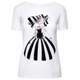 【Web展】 【emma&gaia】CHICプリント半袖Tシャツ T-SHIRT STAMPATA