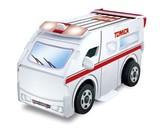 つくってあそぼう トミカ救急車