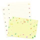 <レターセット>paper land letter PPLL-03 forest