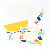 <レターセット>cheerful letter set ATL-02 UCHUU