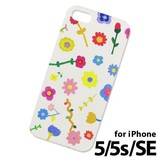<iPhoneケース>AIUEO iPhone Case IPH-34 FLOWER GY