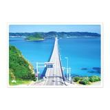 日本の絶景ポストカード JPC-06 角島大橋