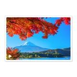 日本の絶景ポストカード JPC-17 河口湖