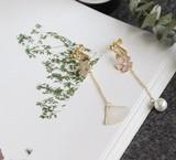 ★2017春新作★ 桜・貝殻・真珠 可愛い ピアス イヤリング