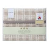 <テキスタイル><毛布>無着色アルパカ入りウール混綿毛布 (毛羽部分) 524010S