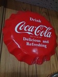 Coca Cola BOTTLE CAP SIGN / コカコーラ ボトルキャップサイン