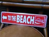 Coca Cola MINI STREET SIGN / コカコーラ ミニストリートサイン