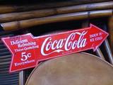 Coca Cola ARROW SIGN / コカコーラ アローサイン