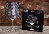 【LEDキャンドル】 ワイングラスシェード 水で灯すLEDキャンドル