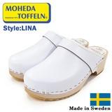【MOHEDA TOFFELN モヘダトフェール】 サンダルサボ  スウェーデン製 クロッグ ウッドソール LINA