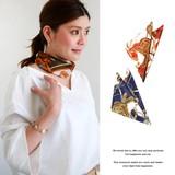 馬車柄スカーフ 服飾 雑貨 スカーフ