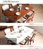 【直送可・送料無料】ダイニングテーブル5点セット グレイス 135cm(2色展開)