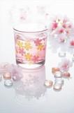 桜ガラス オールド 1P / 春 さくら ノベルティ ギフト 景品