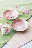 桜 中皿 2P / 春 さくら ノベルティ ギフト 景品