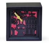 ジブリ 木彫ボックス型オルゴール ジジ(魔女の宅急便)