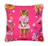 【ナタリーレテ】 クッションカバー Cat in Pink