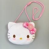 キティ桜着物フェイスポシェット