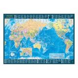 <ポスター>世界地図 A2