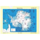 クリアファイル 南極/地図 A4