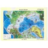 クリアファイル 北極/地図 A4