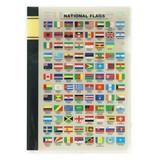 クリアファイル A5 国旗 英語