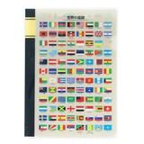 クリアファイル A5 国旗 日本語