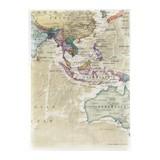 クリアファイル A5 オセアニア/地図