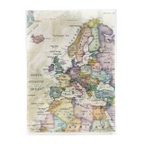 クリアファイル A5 ヨーロッパ/地図