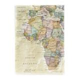 クリアファイル A5 アフリカ/地図