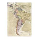 クリアファイル A5 サウスアメリカ/地図