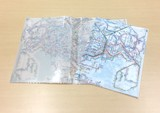 Train Plastic Folder A4 A3 Semitransparent