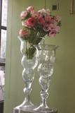★2017春夏新商品★【インテリア・花器/ベース】人気のクリアタイプ ウニコ Glass Vase