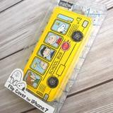 【スヌーピー】iPhone7対応フリップカバー(バス)[877578]