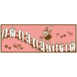 【ムーミン】キッチンマット(楽しい行列/リトルミイ)[587425]