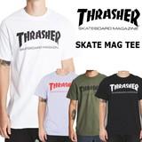 THRASHER【スラッシャー】 SKATE MAG 半袖 Tシャツ (全4色)