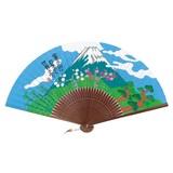 岡本 肇 新水墨扇子シリーズ 富士山