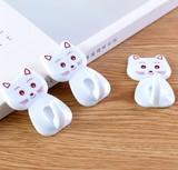 【可愛い風登場!】接着フック 猫(=ΦエΦ=)  可愛い 三つセット